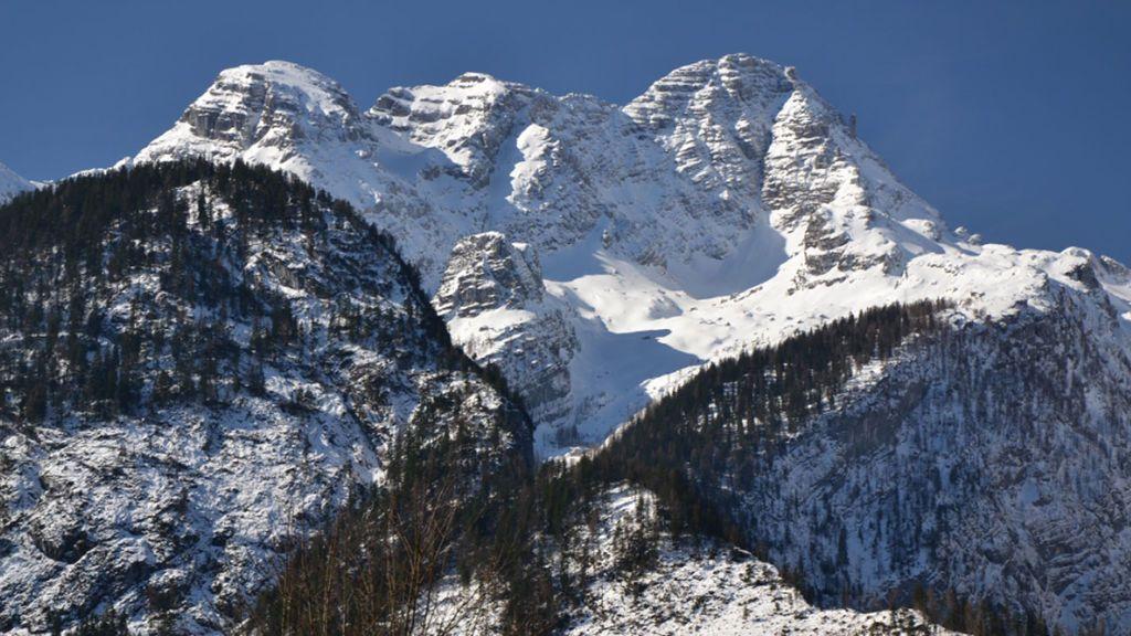 Un montañero alemán sobrevive cinco días en una grieta en los Alpes austriacos