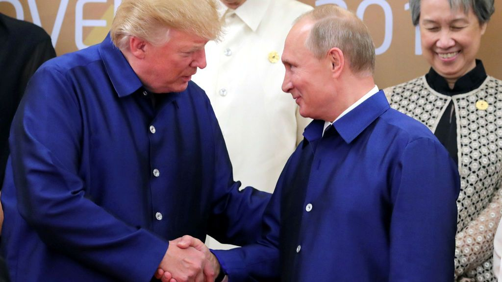Trump y Putin, amigos para siempre en la cumbre de Asia