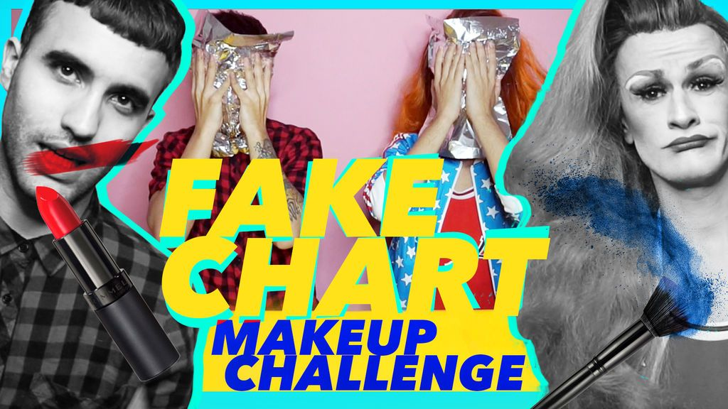 Challenge Travesti: 'Fake Chart' con Angelita 'La Perversa'