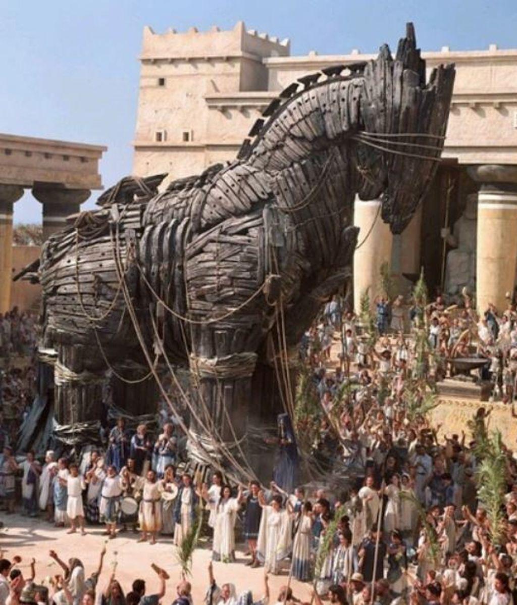 La leyenda del caballo de Troya, reescrita