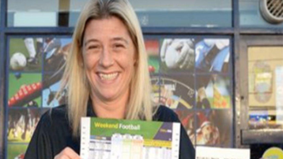 ¡La suerte del principiante! Una mujer gana 650.000 euros en una apuesta sin tener ni idea de fútbol