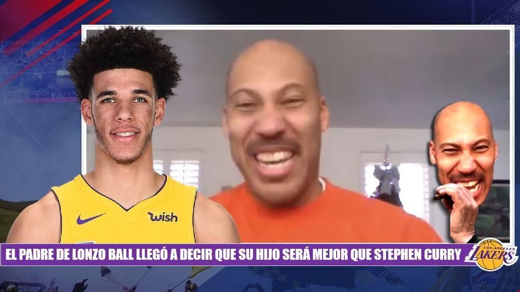 Lonzo Ball: la gran esperanza de los Lakers decepciona en la NBA... ¡y su padre la lía!