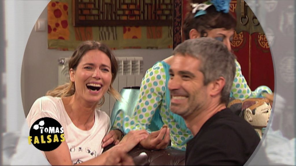 Las tomas falsas más divertidas de Raquel Villanueva en 'LQSA'