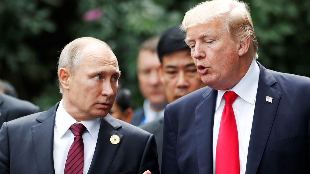 Trump y Putin confirman su determinación para derrotar a Estado Islámico en Siria
