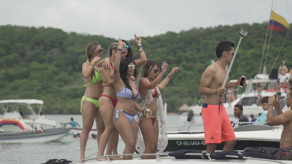 Alejandra Andrade entrevista al jefe de una red de proxenetas para turistas, el lunes en 'Fuera de cobertura'