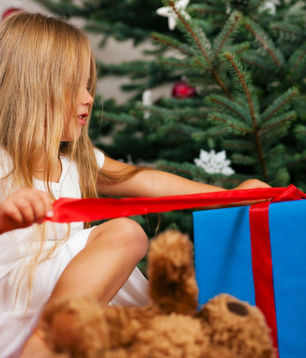 Así se abre un regalo de Navidad