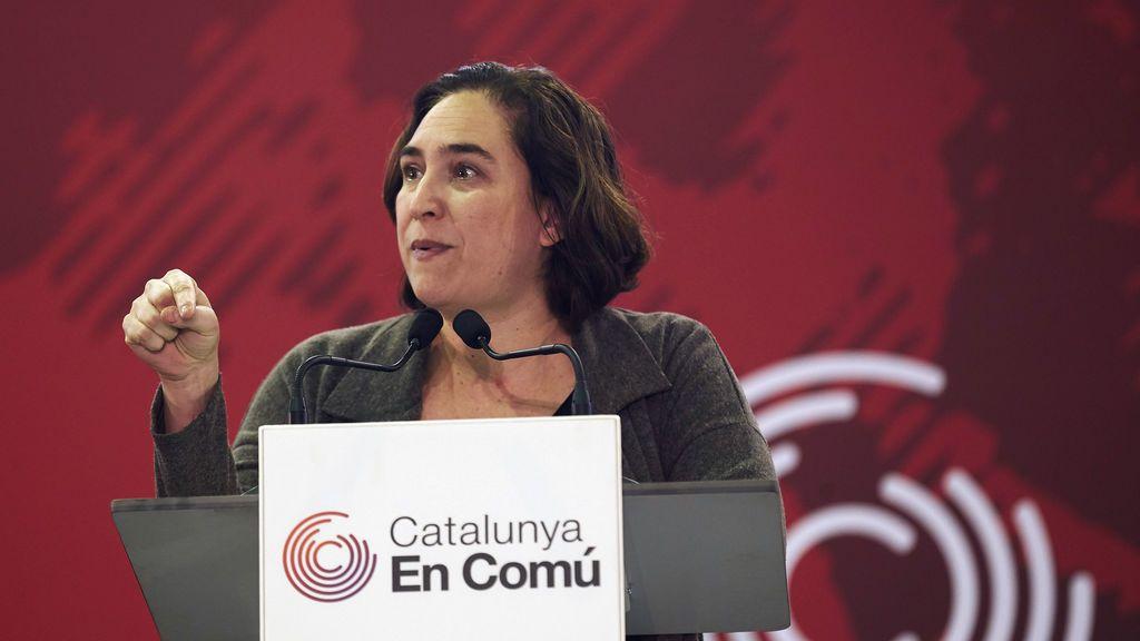 """Colau: """"Ojalá el PSC abandone pronto pactos con PP, Cs y Unió"""""""