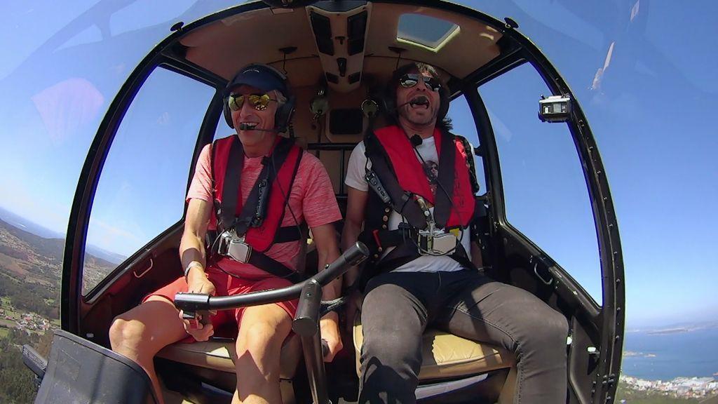 "Javi Maneiro alucina volando con Calleja: ""¡¡Qué pasada, tíoooooooo!!"""