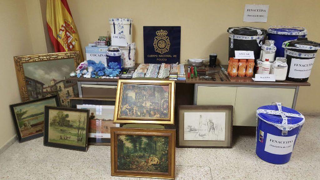 Hallan una obra del pintor Antonio López en un piso de Vallecas donde vendían droga
