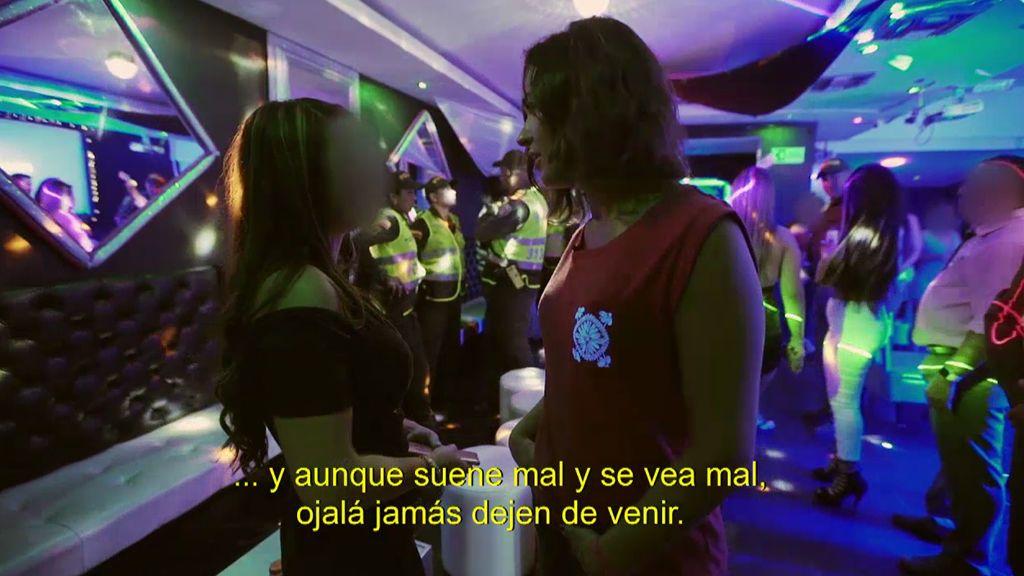 "Una prostituta colombiana: ""Ojalá los clientes nunca dejen de venir"""