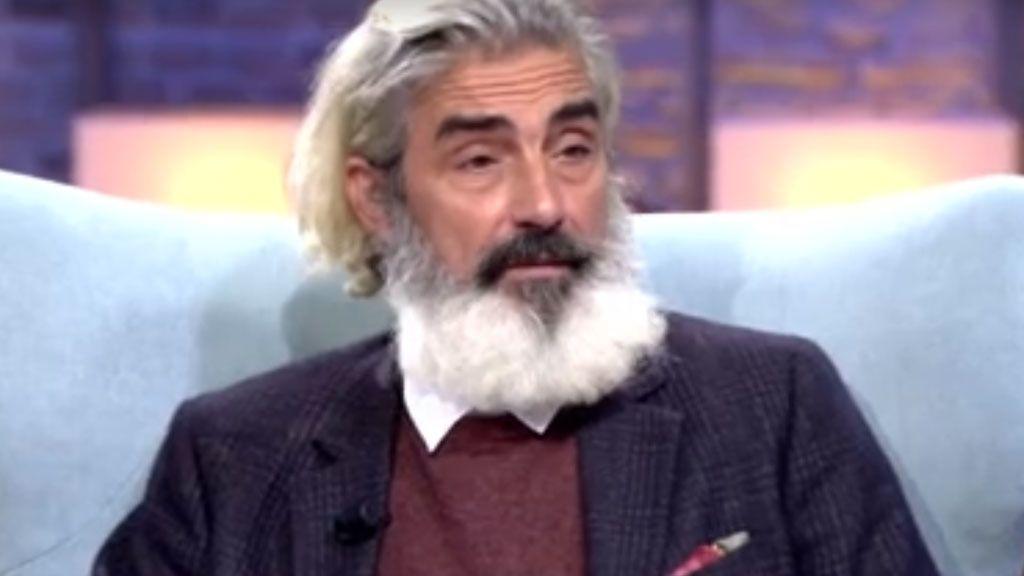 ¿Quién es este señor con barba que en otro tiempo fue pillado en un coche con Ana Obregón? Sí, es él...