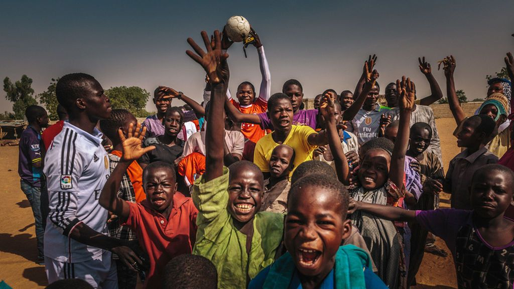 El fútbol, herramienta clave para que los niños no se unan a Boko Haram en Nigeria