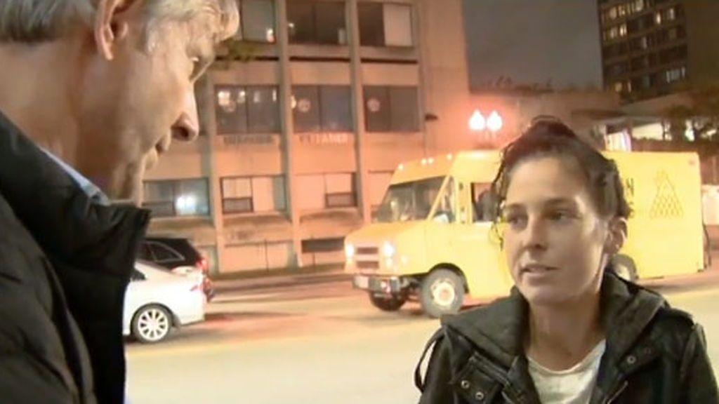 Unos padres encuentran a su hija desaparecida en un reportaje en televisión sobre drogadictos en Boston