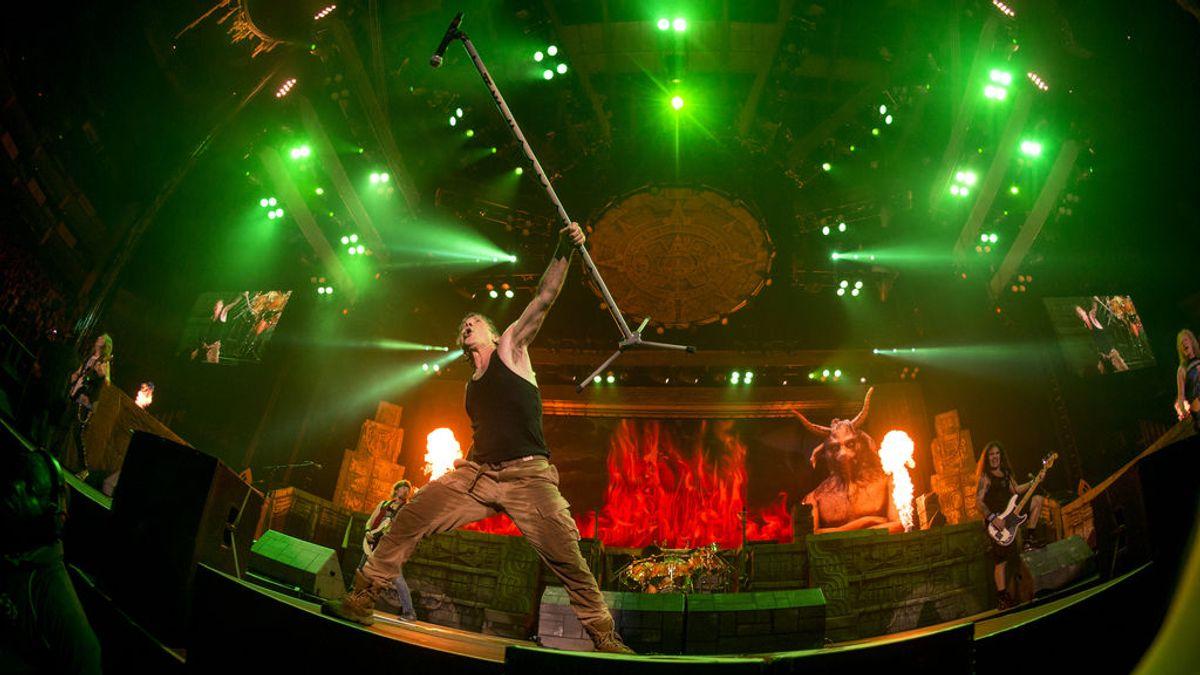 Iron Maiden tocará en el Estadio Wanda Metropolitano el próximo 14 de julio
