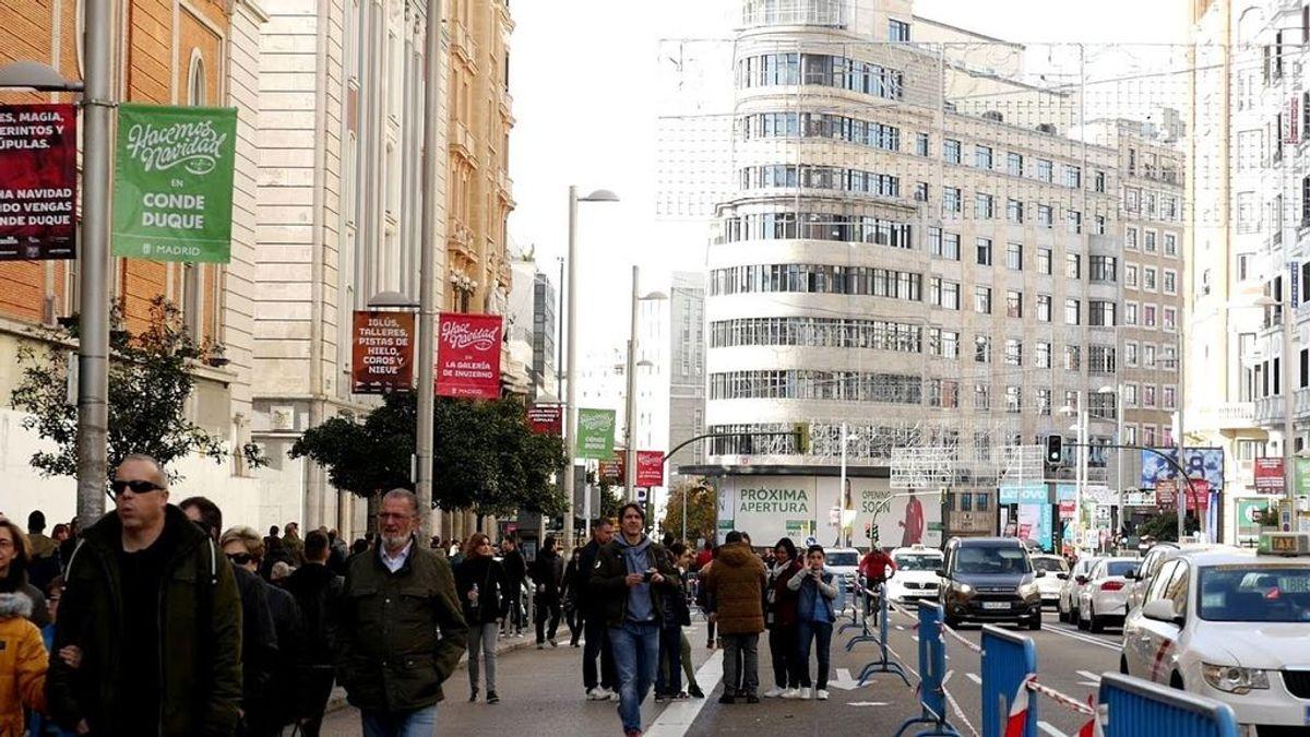 Madrid limita el tráfico en Gran Vía desde 1 de diciembre y prohíbe camiones hasta el 7 de enero