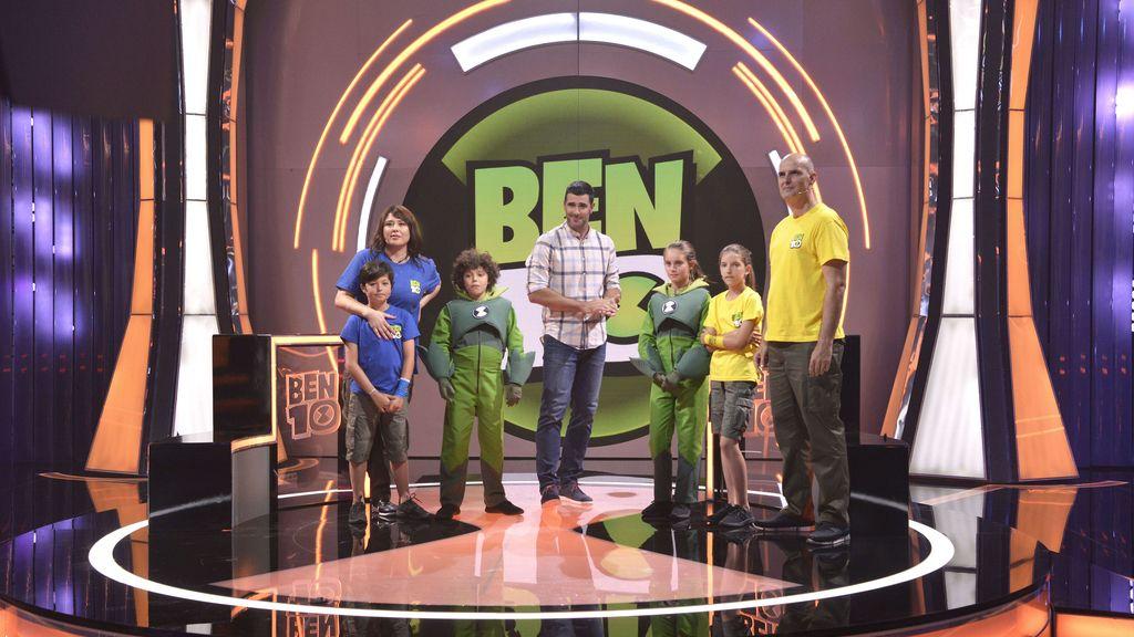 'Ben 10 challenge', concurso de Boing presentado por David Amor.