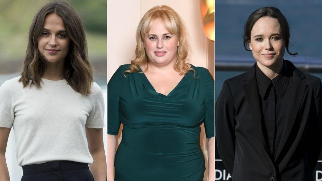 El acoso era cosa de 'vips': Alicia Vikander, Rebel Wilson y Ellen Page también dicen #MeToo