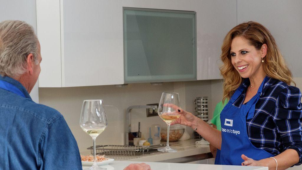 Pastora Soler recibe la visita de  Bertín Osborne en 'Mi casa es la tuya'.