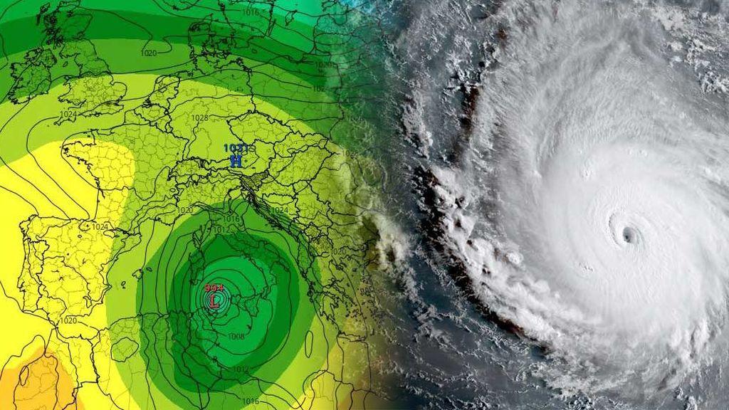 ¿Qué es un 'medicane'? Así son los huracanes 'made in el Mediterráneo'