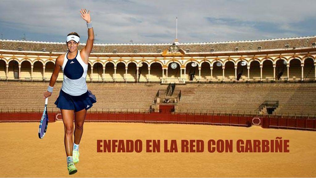 Garbiñe borra su fotografía en La Maestranza tras las críticas de sus seguidores en la red