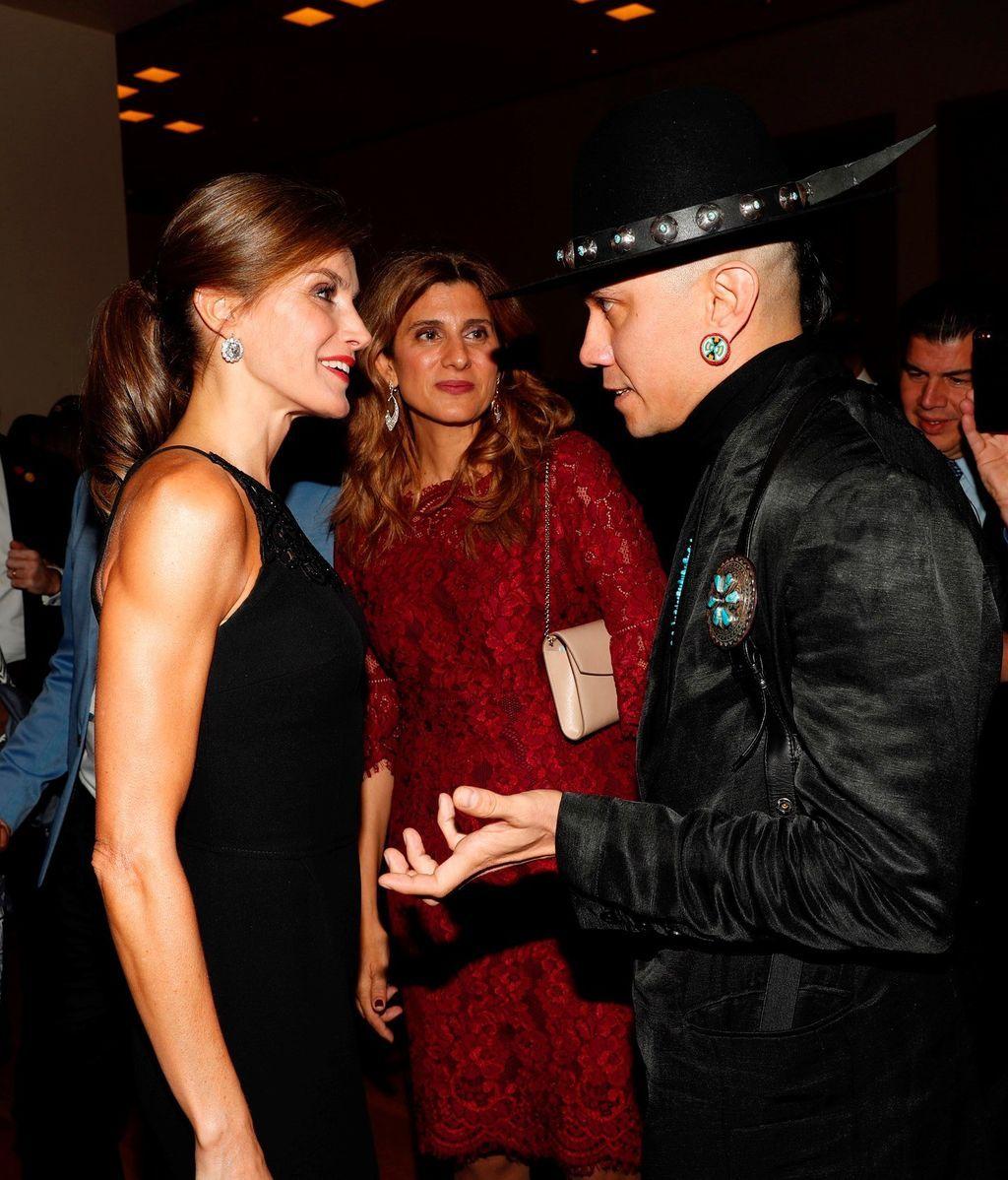 La Reina Letizia deslumbra en México
