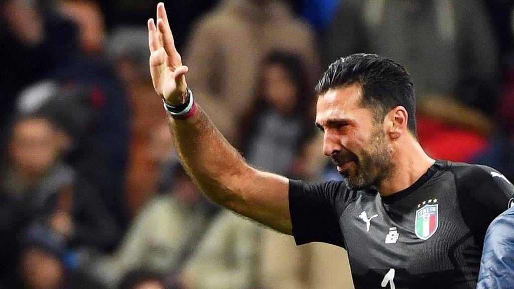 Las lágrimas de Buffon al quedarse sin Mundial que conmueven a todo el mundo del fútbol