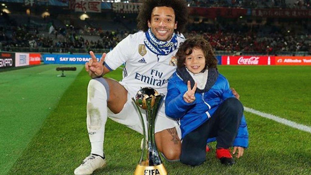¡El hijo de Marcelo apunta maneras de delantero! Así fue su último golazo