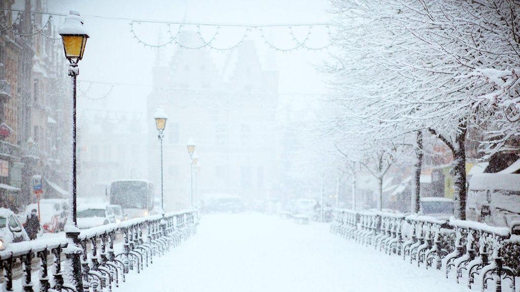 ¿Cuáles son las ciudades donde más nevará este invierno?