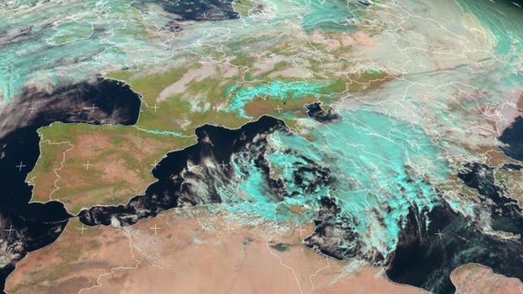 Ya tiene nombre el medicane que se está formando en el Mediterráneo