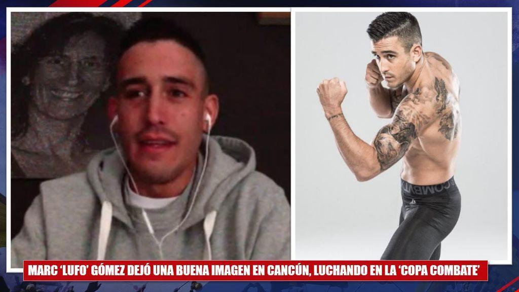 """Hablamos con Marc 'Lufo' Gómez, un guerrero de las artes marciales mixtas: """"Este es el deporte del futuro"""""""