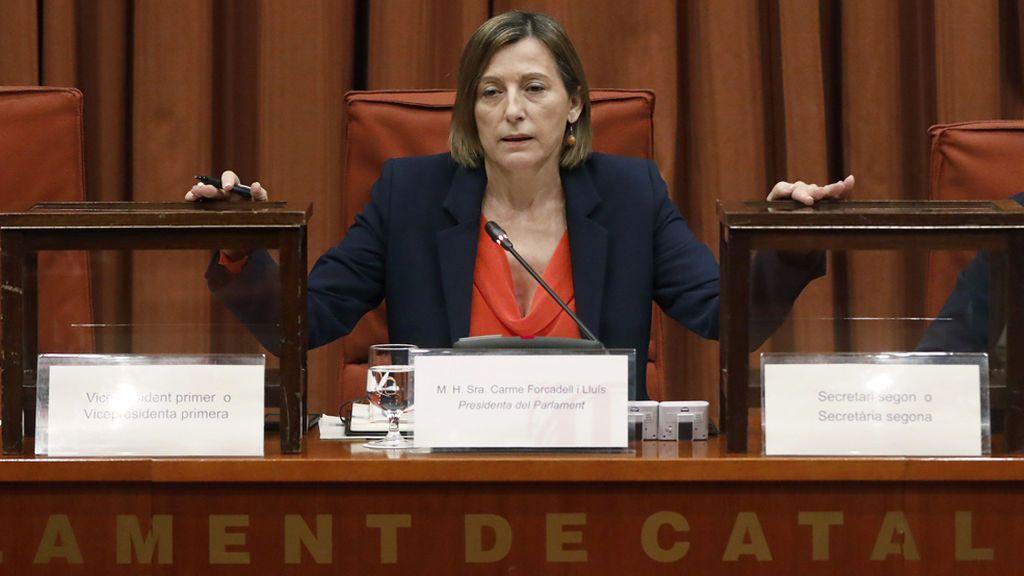 Carme Forcadell se presentará a las elecciones del 21D en la lista de ERC