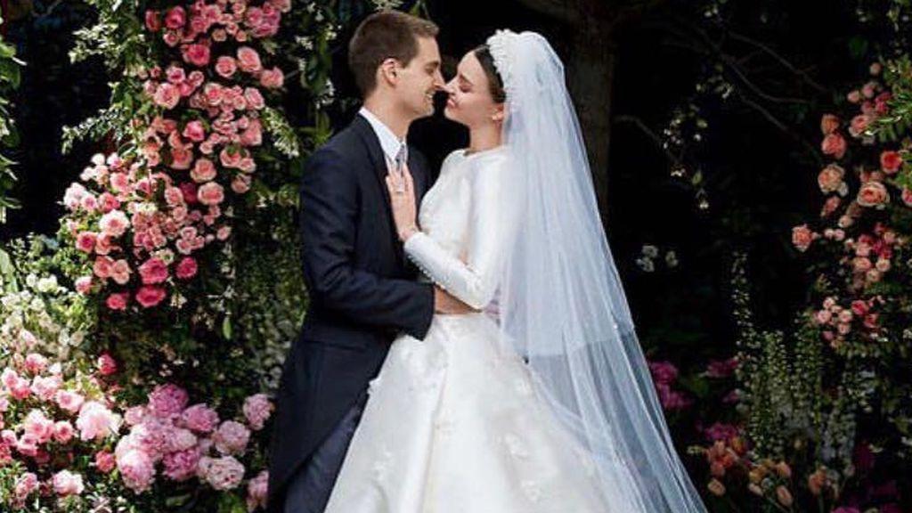 Miranda Kerr y Evan Spiegel van a ser papás, ¡felicidades!👶