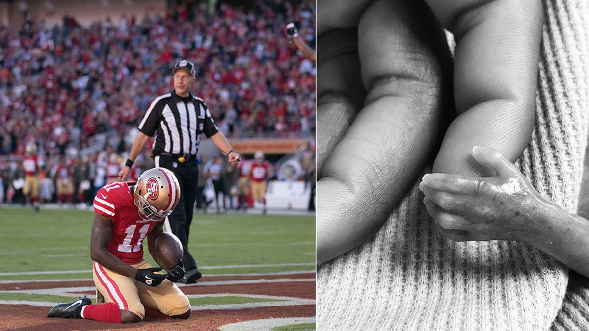 Pierde a su bebé y horas después pide jugar el partido para rendirle homenaje