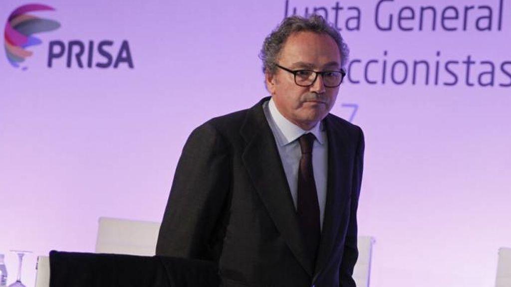 Manuel Polanco (en la imagen) será el nuevo presidente de Prisa en sustitución de Juan Luis Cebrián.