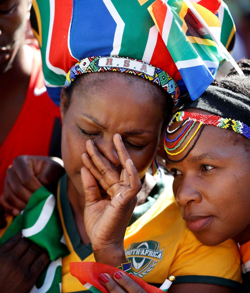 Sudafricanos afectados después de que Francia fuera anunciada como el país anfitrión de la Copa Mundial de Rugby para la Copa Mundial de Rugby en 2023