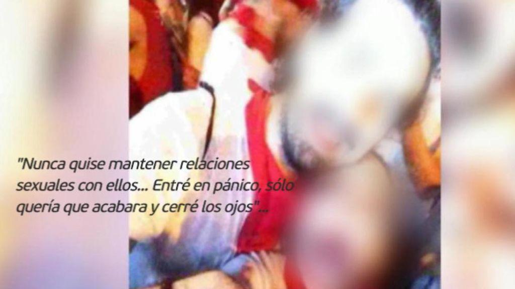 """La joven que denunció a La Manada: """"Nunca quise tener relaciones sexuales con ellos"""""""