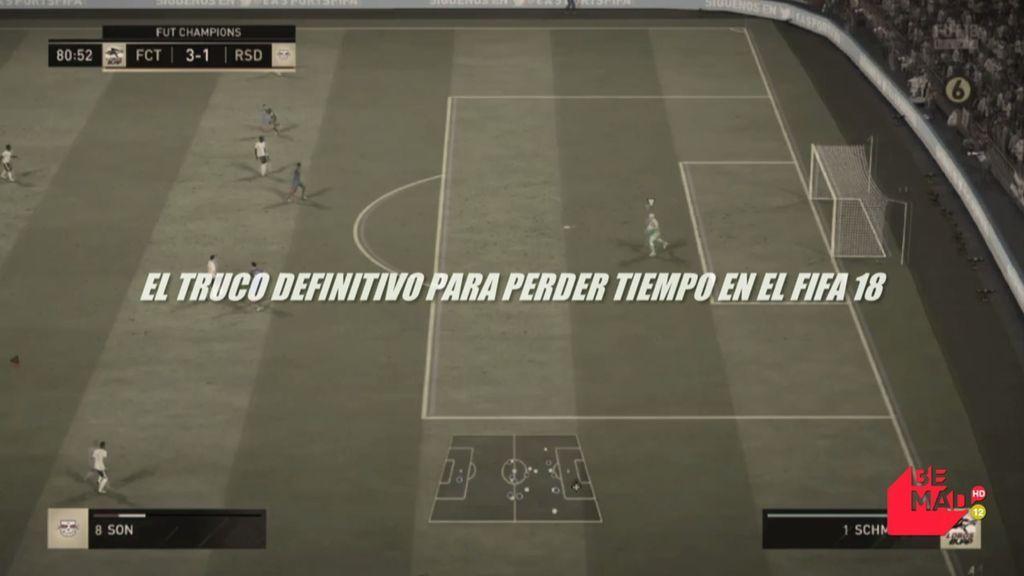 Bastan un portero y un defensa: el truco definitivo para perder tiempo en el FIFA 18