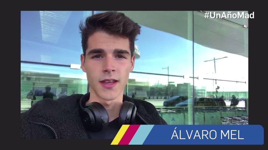 """Álvaro Mel: """"Muchas felicidades mtmad por este primer añito. Lo estáis haciendo muy bien"""""""