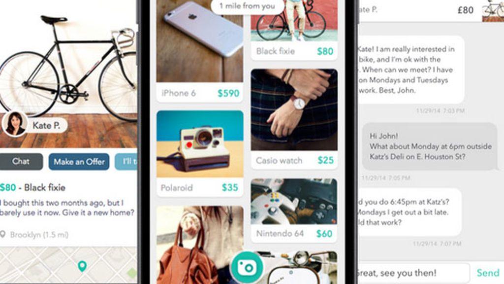 Las compras 'online' de bienes de segunda mano