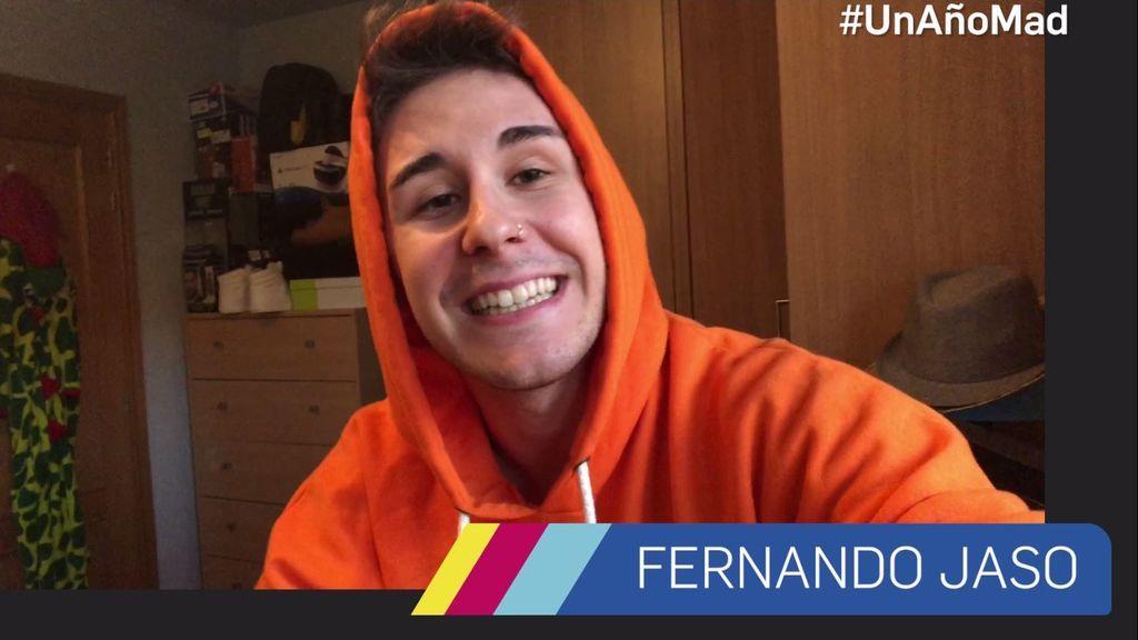 Fernando Jaso,  ilusionado al recordar su año en Mtmad