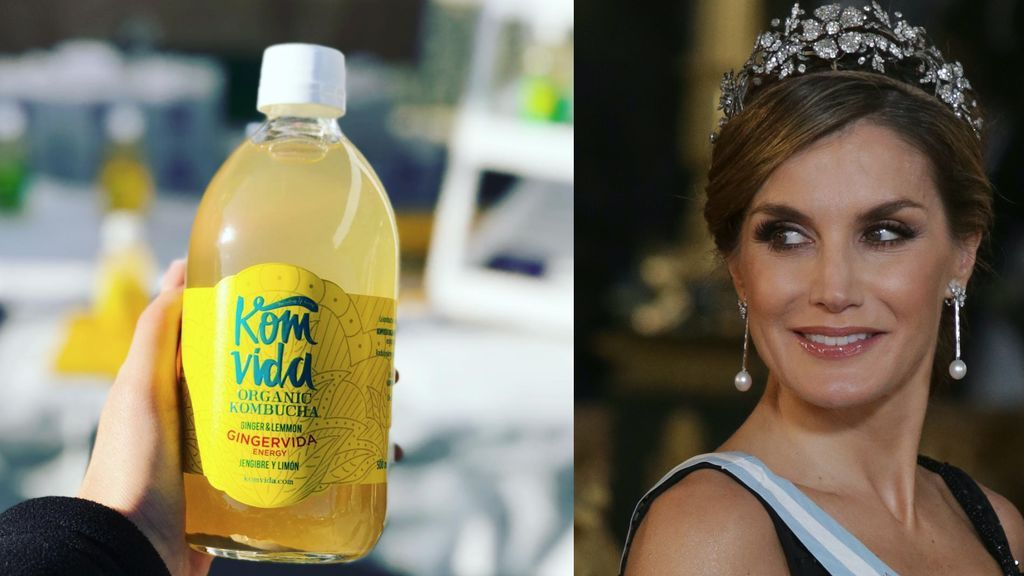 Kombucha, la bebida yogui hecha con bacterias que ha enganchado a Letizia