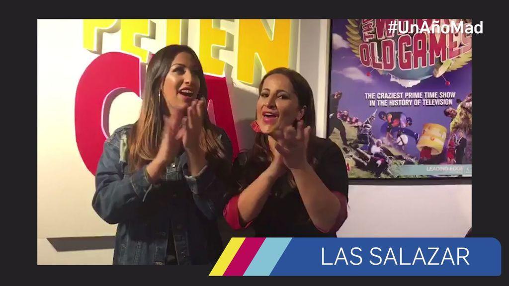 Las Salazar y la felicitación más flamenca  a mtmad