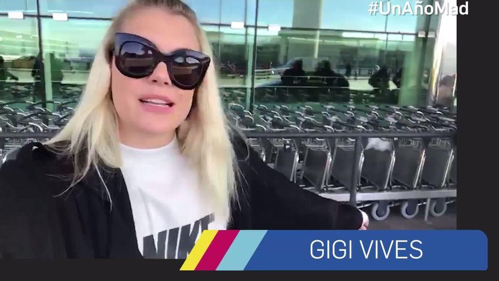 'In love' con el mensaje de felicitación de Gigi Vives
