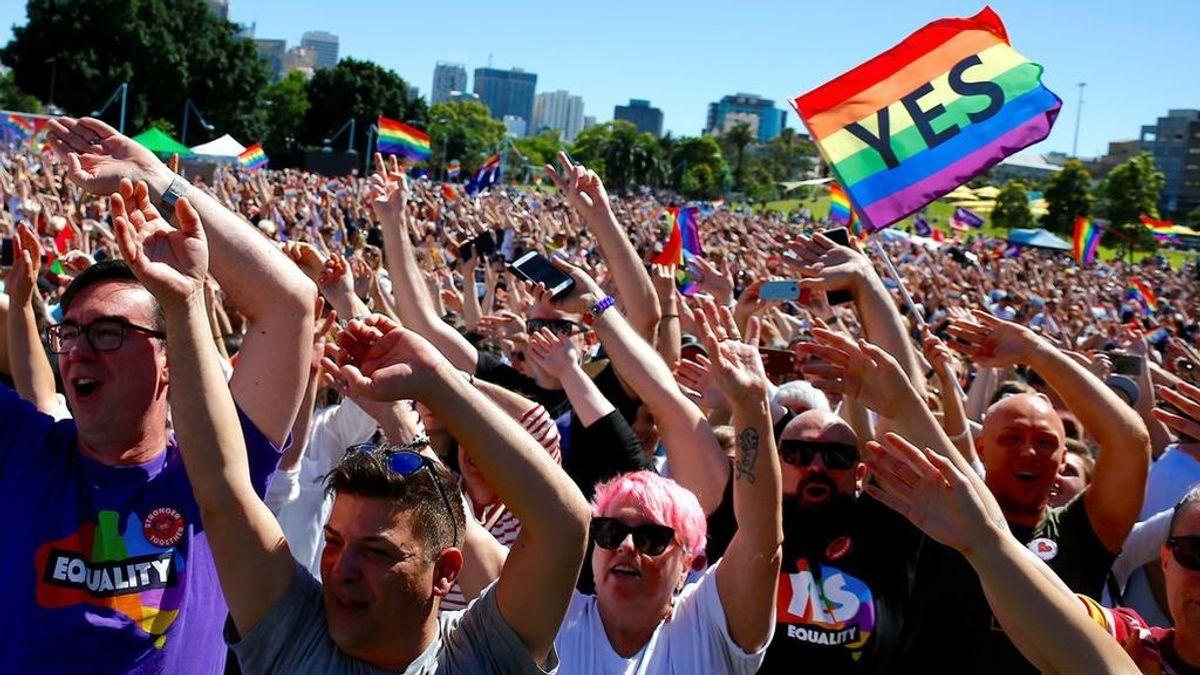 Australia dice 'sí' al matrimonio homosexual con un 61,6 % de los votos