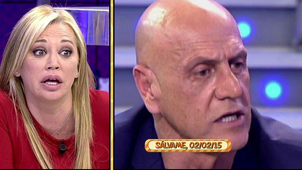 """Belén Esteban y la posible participación de Kiko M. en 'GH VIP': """"Conmigo se cebó"""""""