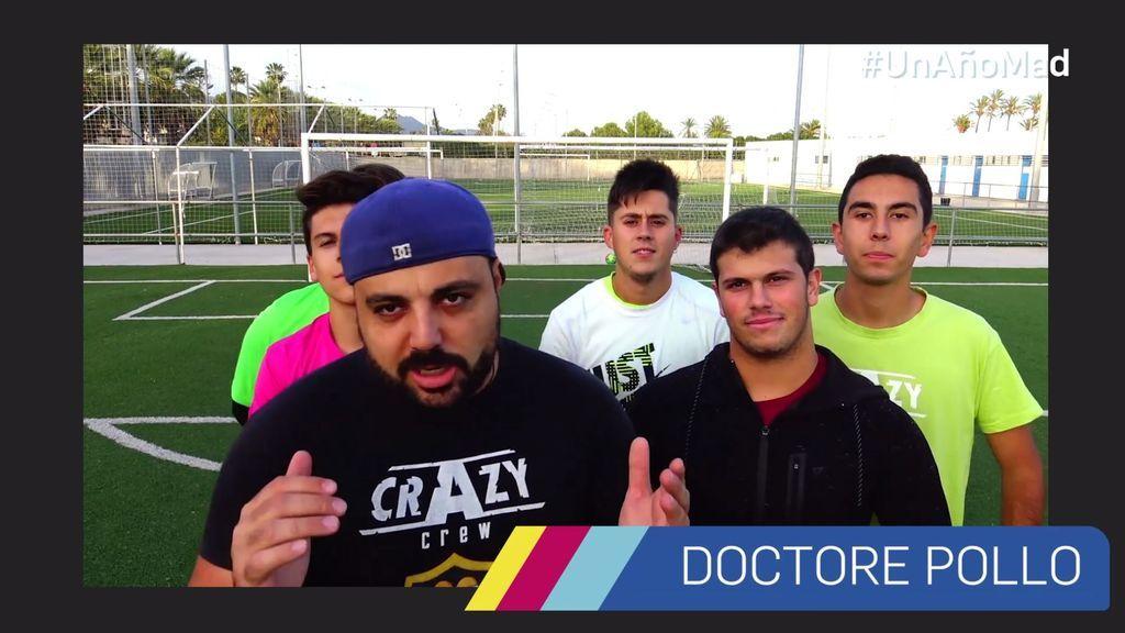Doctore Pollo, su 'Crazy crew' y su loca felicitación a mtmad