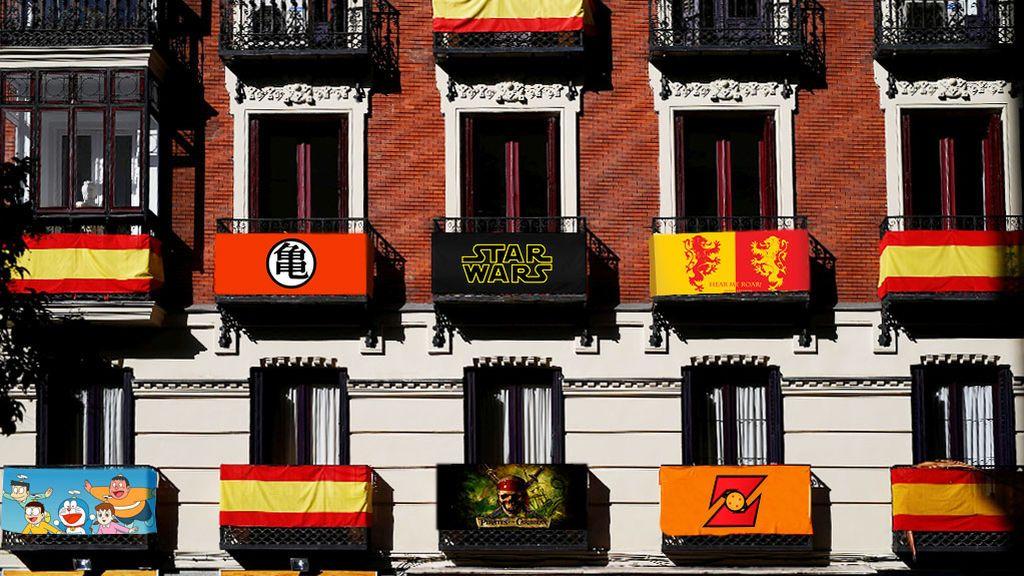 Test: ¿Qué bandera tienes que colgar realmente en tu balcón? El frikismo, nuestra patria