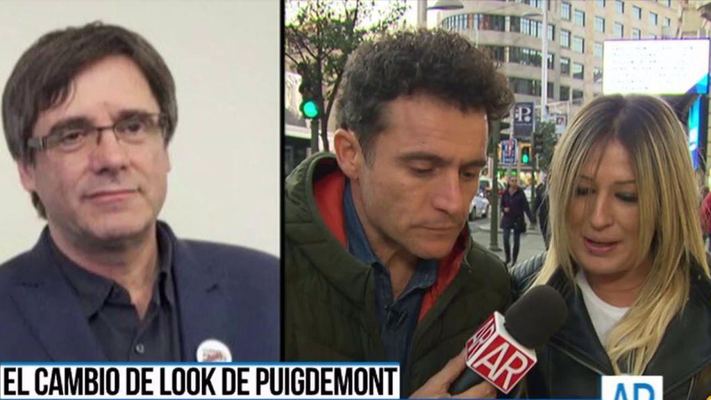 El cambio de look de Puigdemont: ¿Qué piensa la gente?