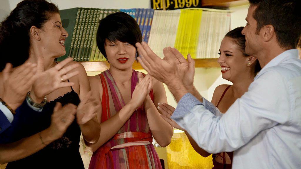 Lin celebra su cumpleaños con los 3.000€ del premio en el bolsillo