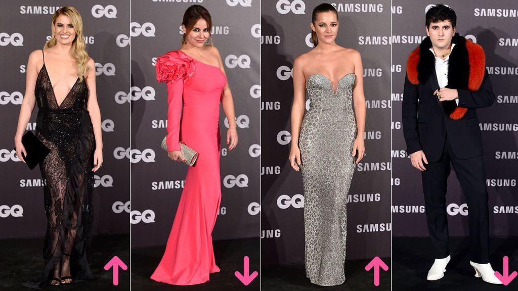 Aciertos y errores de la alfombra roja de los premios GQ